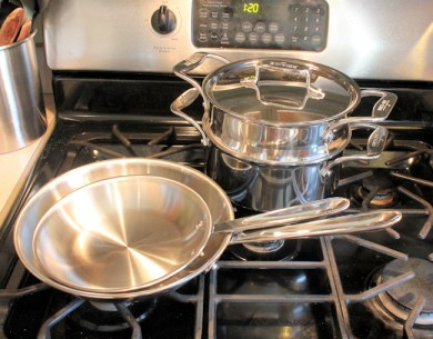 some of our new All-Clad cookware