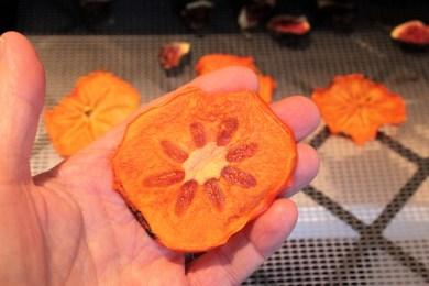 dried persimmon slice