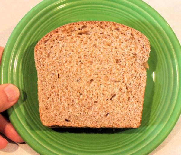 slice of Light Rye Sandwich Loaf