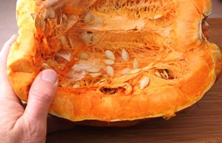 thick orange flesh of Kumi Kumi