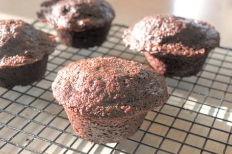 Spelt Chocolate Zucchini Muffin