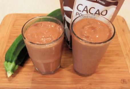 Chocolate Zucchini Smoothies