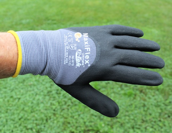 another view of MaxiFlex glove