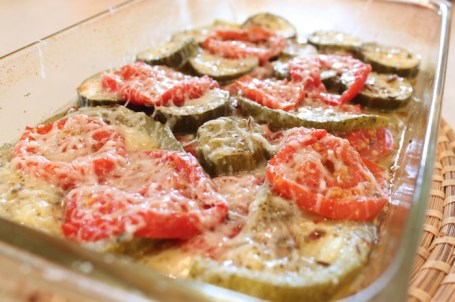 Zucchini and Tomato Bake