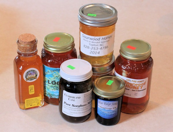 honey and other goodies from WNC Farmer