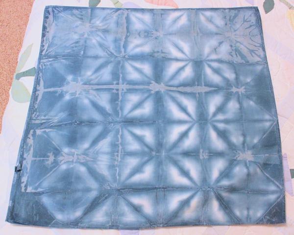 indigo dyed bandana