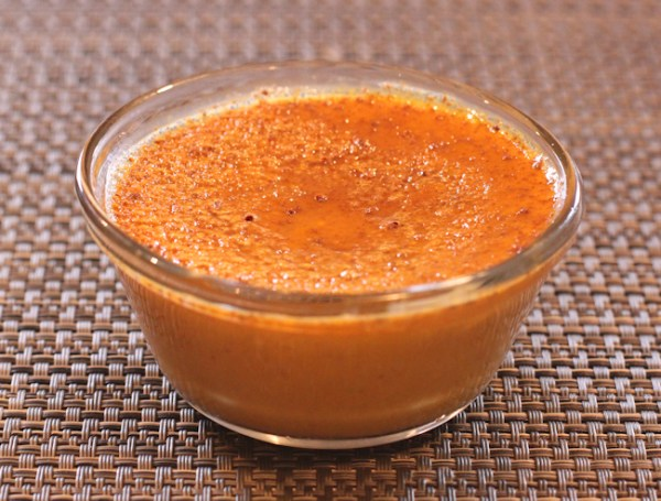Maple Pumpkin Custard made with Thai squash