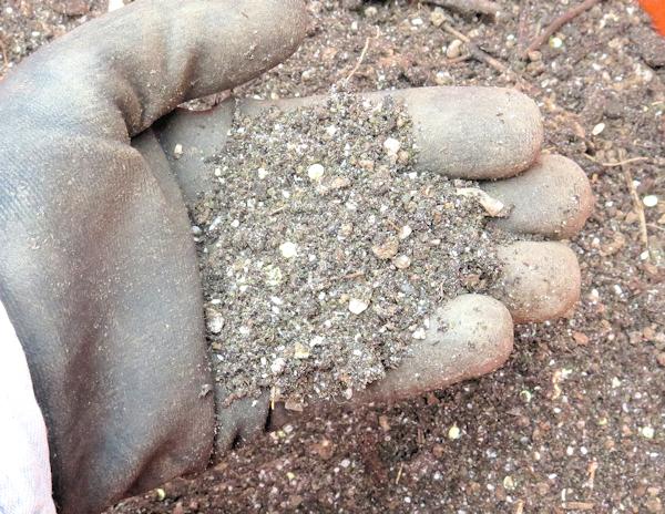 soil amendments ready for garden
