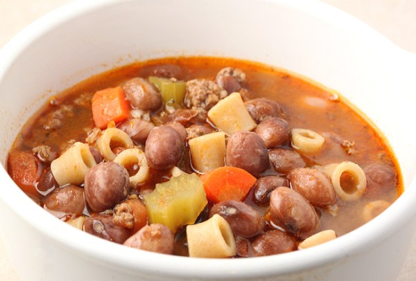 Pasta e Fagioli with Good Mother Stallard beans