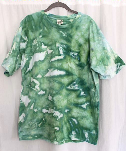 snow dyed t-shirt