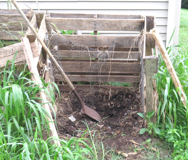pallet composter needs to be replaced