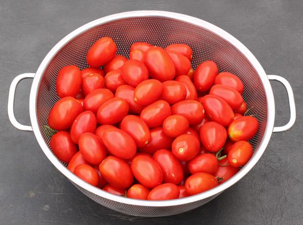 2015 harvest of Juliet tomatoes