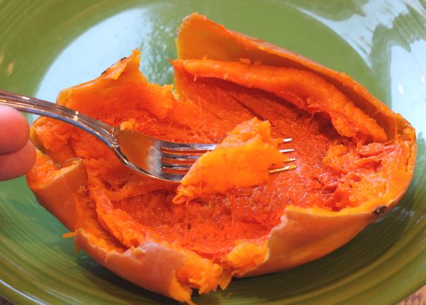 cooked Seminole pumpkin