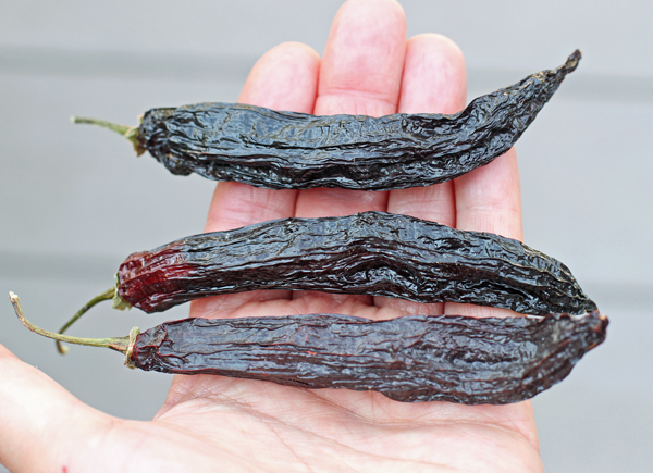 dried Aji Panca peppers