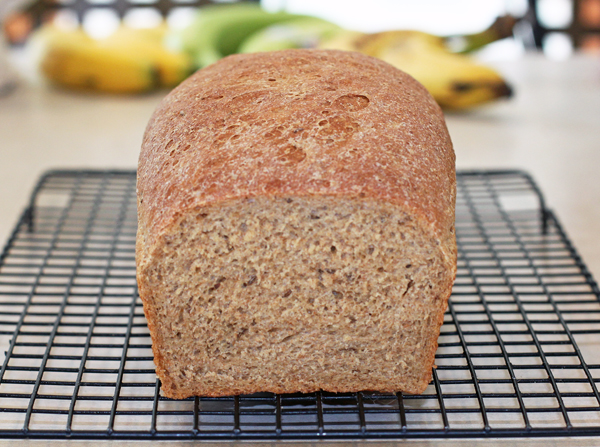 Rye and Whole Sandwich Loaf