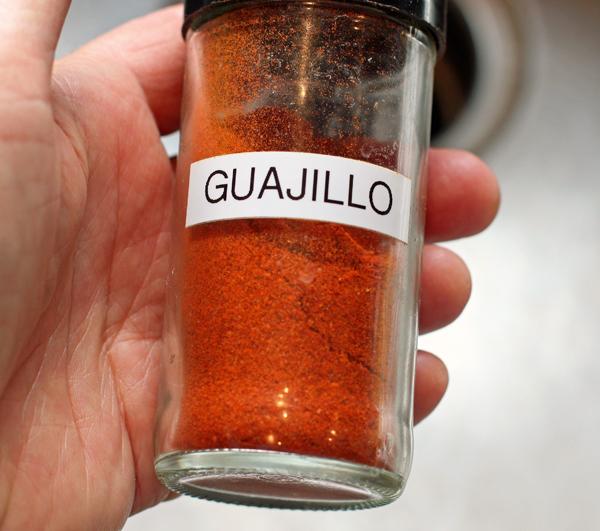 Guajillo chile powder