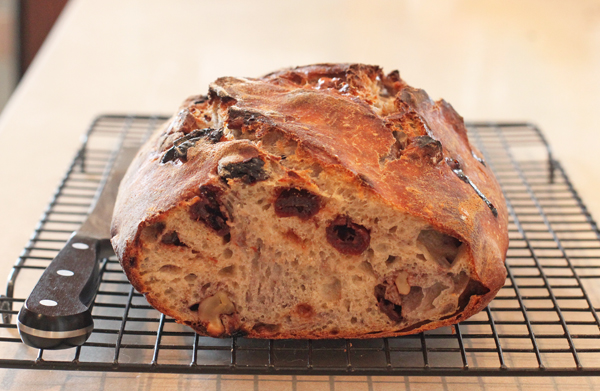 Cherry-Walnut Sourdough Bread