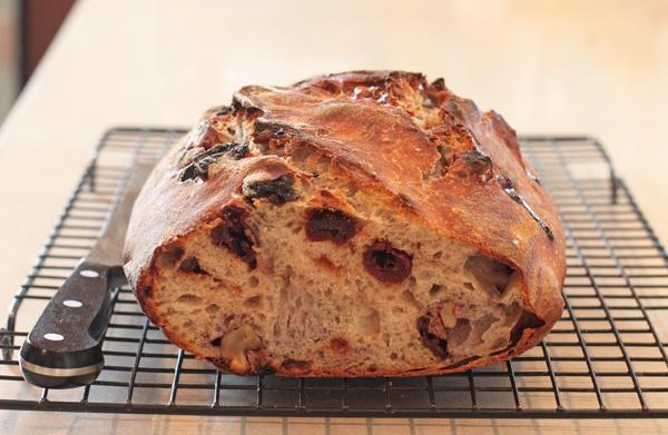 Cherry-Walnut Sourdough Bread