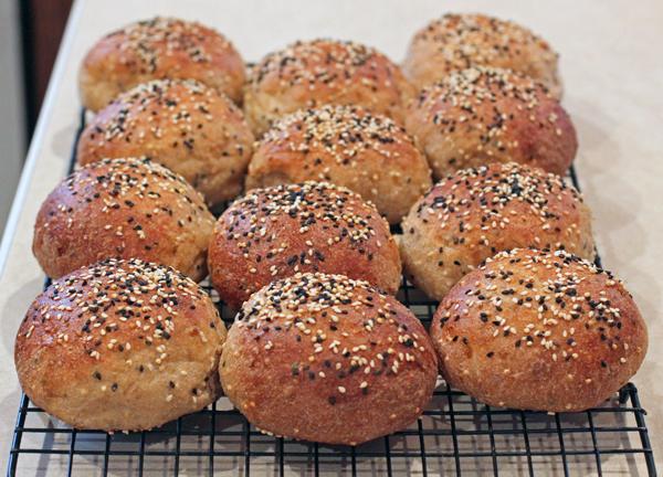 Multi-Grain Seeded Dinner Rolls