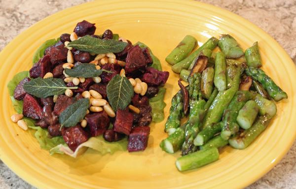 Rio Zape Bean and Sweet Potato Salad