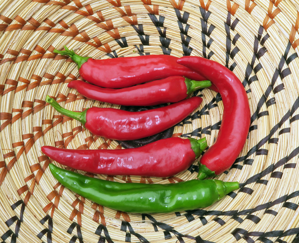 Minero hot peppers
