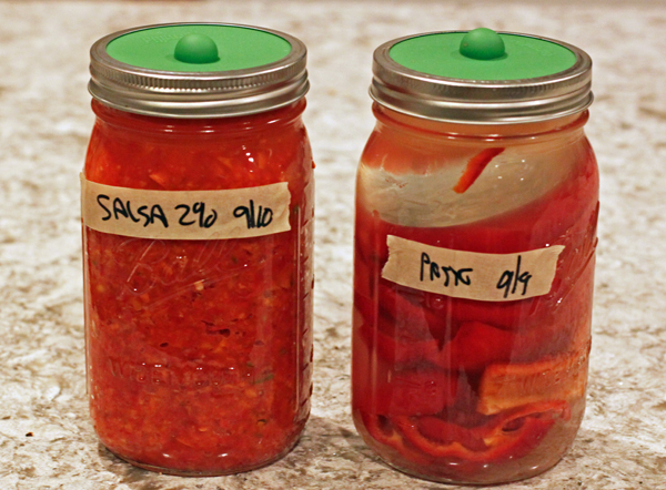 peppers fermenting
