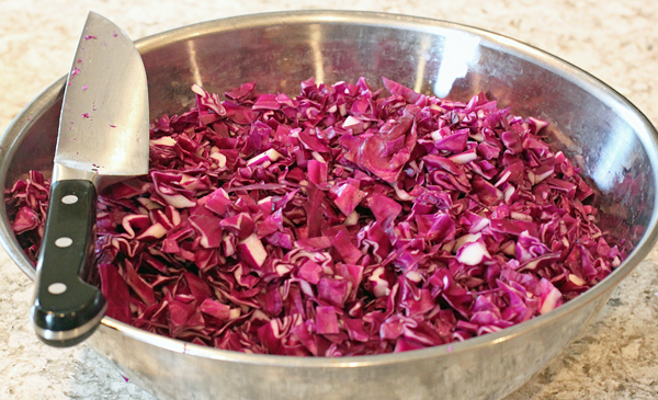 red cabbage for kraut