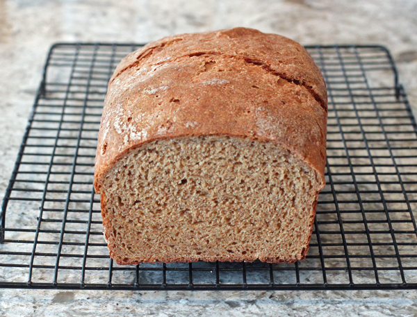 Naturally Leavened Einkorn Bread