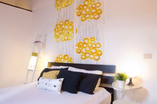 Home Stager: stoffa appesa