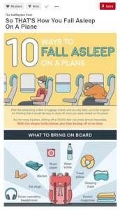 Pinterest 10 modi per dormire in aereo