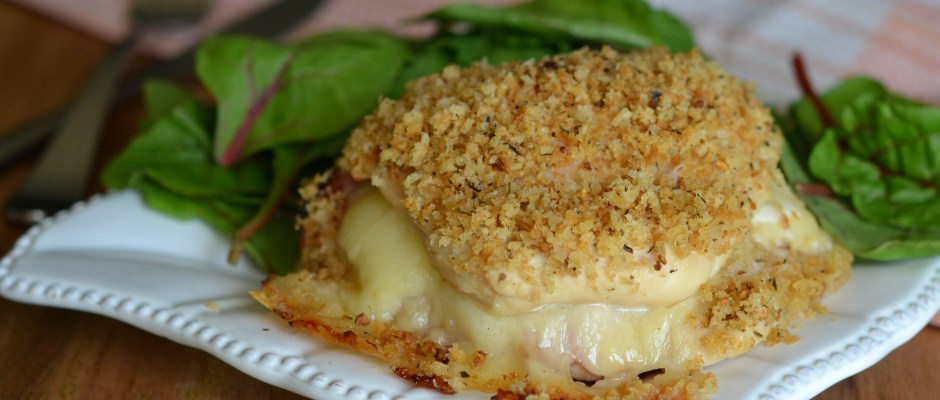Healthier Chicken Cordon Bleu