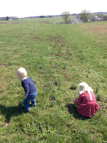 Outdoor time is so important for kids! Their mood improves and they learn so much!
