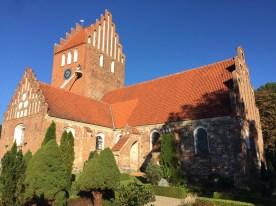 Classic Danish church