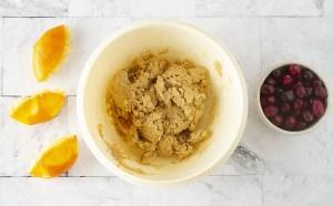 Orange Cranberry Scones Ingredients