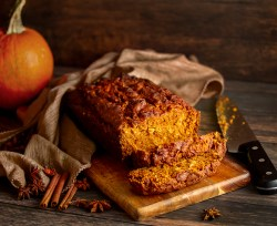 Pumpkin Spice and Oat Loaf