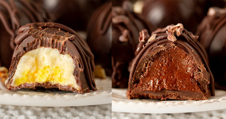 Cream & Nutella Stuffed Easter Eggs