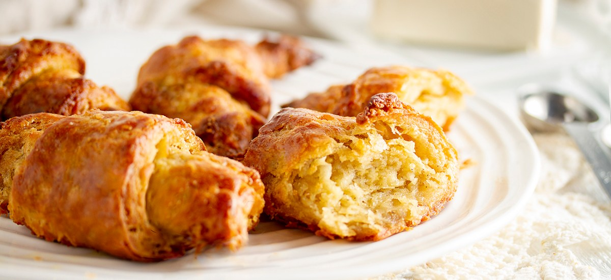 Gluten-free & Vegan Croissants