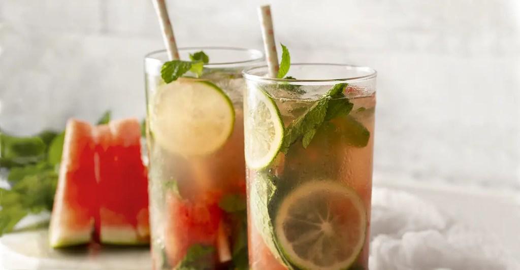 Watermelon Mojitos Cocktail Drinks