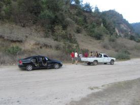 In Guatemala möchte man ungern in der Pampa stecken bleiben