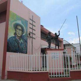 Mural von Sandino