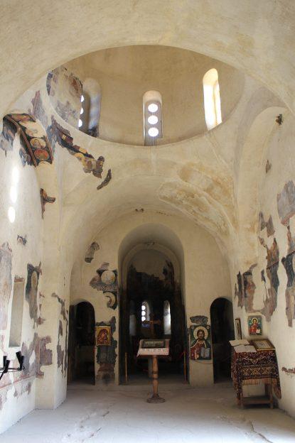 Die noch erhaltene Kirche aus dem 12. Jahrhundert