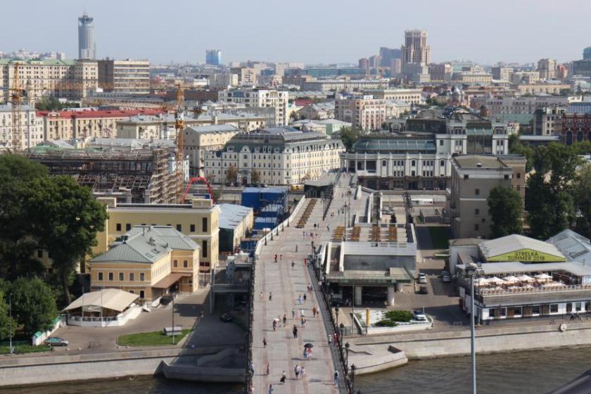 Ausblick von der Christ-Erlöser-Kathedrale