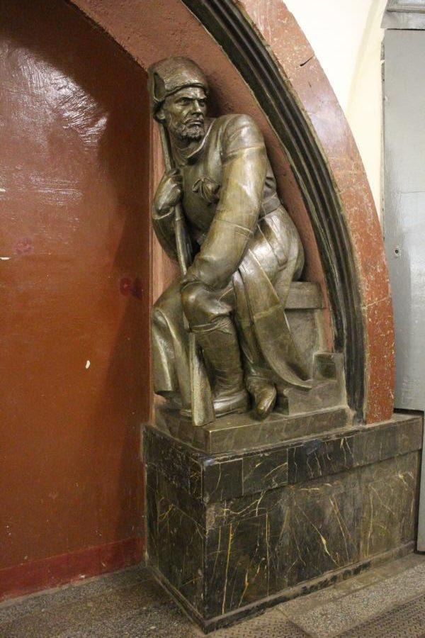Statue eines Soldatens