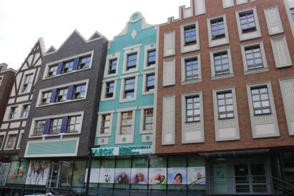Die Fassade des Einkaufszentrums Amsterdam