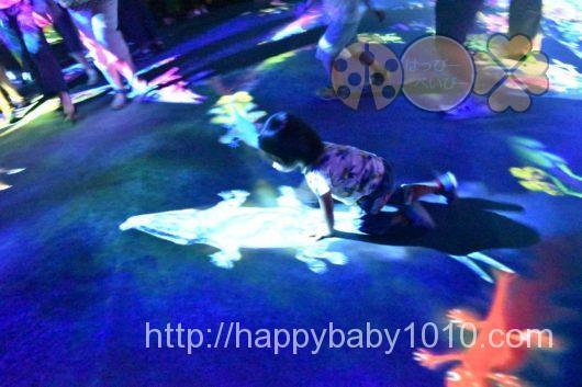 チームラボボーダレス 混雑 妊婦 入り口 3歳 未就学児 子ども アスレチックス 運動の森