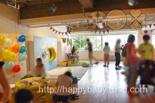 スタジオノハナ 子連れイベント 写真撮影 先着 会場内の様子