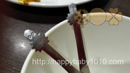 ムーミンハウスカフェ 子供用フォーク&スプーン