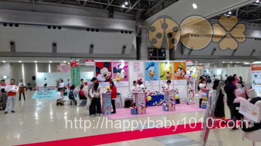 ベビー・キッズ&マタニティショー2017 会場内 広さ ベビーカー お土産
