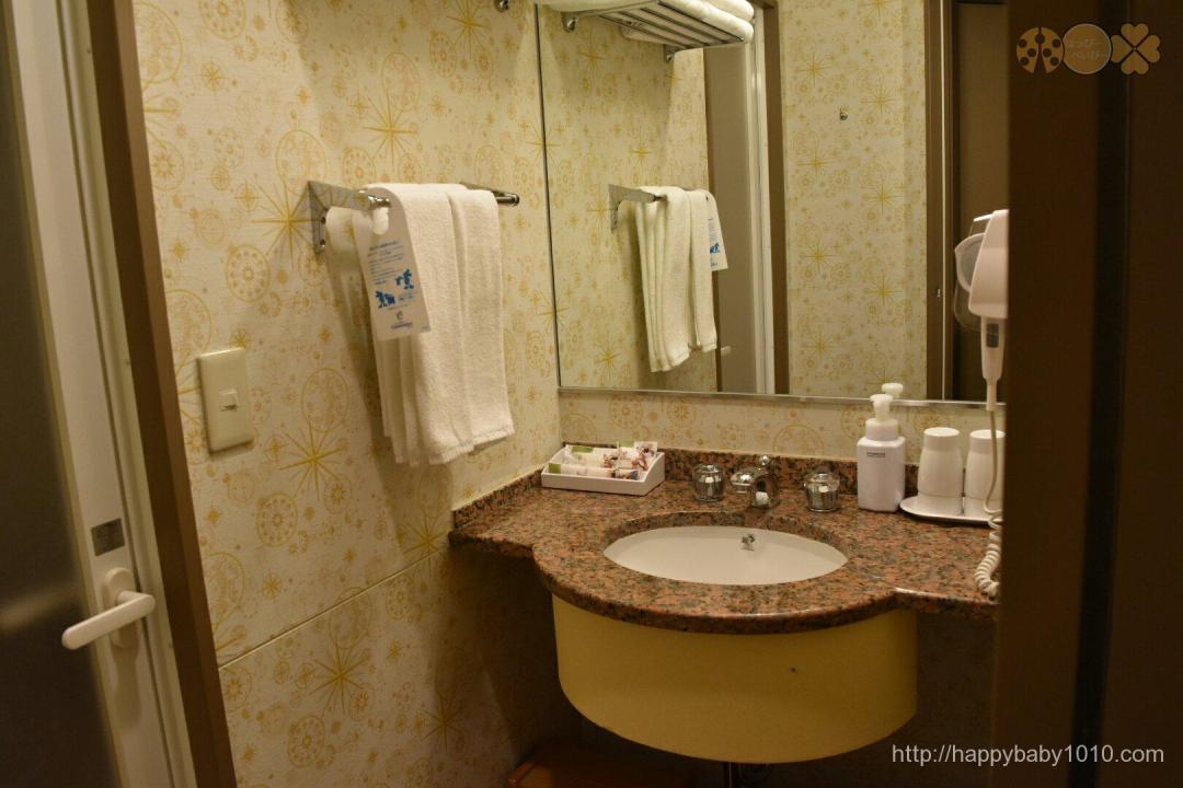 バスルーム ディズニーセレブレーションホテル 感想 ブログ レビュー 浴室