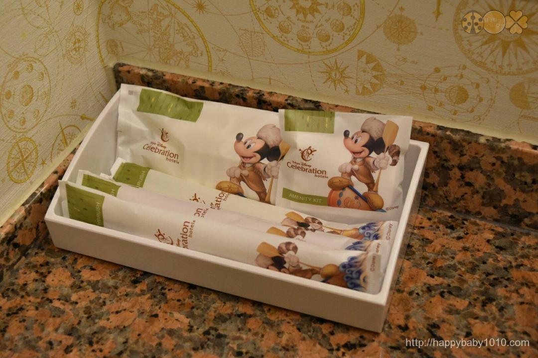 ディズニーセレブレーションホテル アメニティ  お部屋 レビュー 感想 ブログ